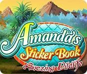 Feature screenshot Spiel Amanda's Sticker Book: Amazing Wildlife