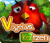Feature screenshot Spiel Vögel vs. Katzen