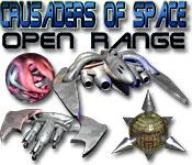 Crusaders of Space Open Range game play