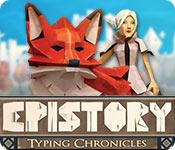 Epistory: Typing Chronicles game play