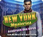 Feature screenshot Spiel New York Mysteries: Ausbruch des Virus Sammleredition