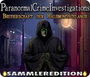 Feature screenshot Spiel Paranormal Crime Investigations: Bruderschaft der Halbmondschlange Sammleredition