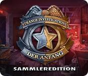 Feature screenshot Spiel Strange Investigations: Der Anfang Sammleredition