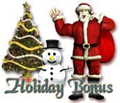 Holiday Bonus game play