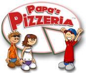 Har screenshot spil Papas Pizzeria