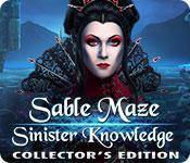 Sable Maze: Sinister Knowledge Collector's Edition game play