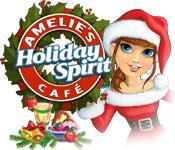 Функция скриншота игры Амели в кафе: дух праздника