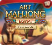 Art Mahjong Egypt: New Worlds game play
