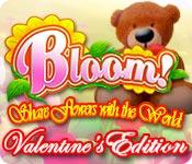 Feature screenshot game Bloom! Share flowers with the World: Valentine's Edition