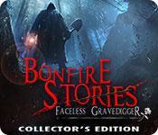 Feature screenshot game Bonfire Stories: The Faceless Gravedigger Collector's Edition