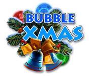 Bubble Xmas game play