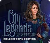 Функция скриншота игры City Legends: The Curse of the Crimson Shadow Collector's Edition