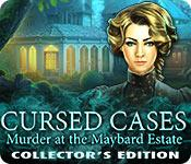 Feature screenshot game Cursed Cases: Murder at the Maybard Estate Collector's Edition