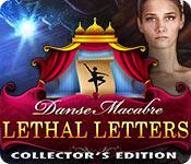 Feature screenshot game Danse Macabre: Lethal Letters Collector's Edition