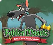 Feature screenshot game Fables Mosaic: Little Red Riding Hood