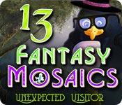Feature screenshot game Fantasy Mosaics 13: Unexpected Visitor