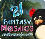 Feature screenshot game Fantasy Mosaics 21: On the Movie Set