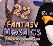 Feature screenshot game Fantasy Mosaics 22: Summer Vacation