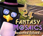 Feature screenshot game Fantasy Mosaics 24: Deserted Island
