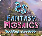 Feature screenshot game Fantasy Mosaics 25: Wedding Ceremony