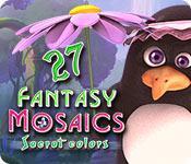 Feature screenshot game Fantasy Mosaics 27: Secret Colors