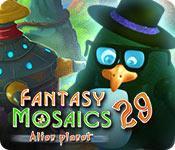 Feature screenshot game Fantasy Mosaics 29: Alien Planet