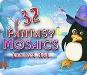 Feature screenshot game Fantasy Mosaics 32: Santa's Hut