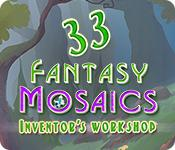 Feature screenshot game Fantasy Mosaics 33: Inventor's Workshop