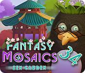 Feature screenshot game Fantasy Mosaics 34: Zen Garden
