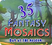 Feature screenshot game Fantasy Mosaics 35: Day at the Museum