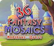 Feature screenshot game Fantasy Mosaics 36: Medieval Quest