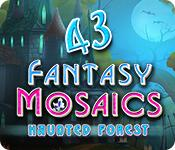 Har screenshot spil Fantasy Mosaics 43: Haunted Forest