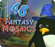 Функция скриншота игры Fantasy Mosaics 48: Gnome's Puzzles