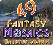 Funzione di screenshot del gioco Fantasy Mosaics 49: Haunted Swamp
