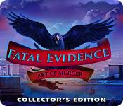 Feature screenshot game Fatal Evidence: Art of Murder Collector's Edition