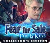Feature screenshot game Fear for Sale: The 13 Keys Collector's Edition