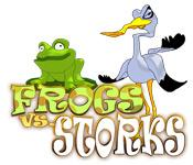 Feature screenshot game Frogs vs Storks