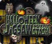 Feature screenshot game Halloween Jigsaw Puzzle Stash