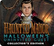 Feature screenshot game Haunted Manor: Halloween's Uninvited Guest Collector's Edition