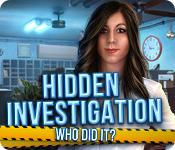 Feature screenshot game Hidden Investigation: Who Did It?