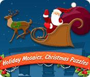 Feature screenshot game Holiday Mosaics Christmas Puzzles