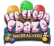 Feature screenshot game Ice Cream Craze: Natural Hero
