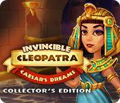 Función de captura de pantalla del juego Invincible Cleopatra: Caesar's Dreams Collector's Edition