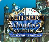 Jewel Match Solitaire: Atlantis 2 Collector's Edition game play