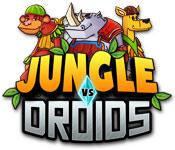 Jungle vs. Droids game play