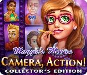 Функция скриншота игры Фильмы Мэгги: камера, действий! Коллекционное издание