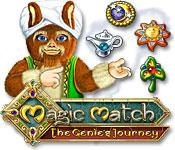 Feature screenshot game Magic Match: The Genie's Journey