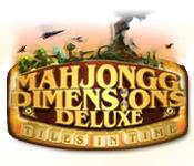 Mahjongg Dimensions Deluxe: Tiles in Time game play