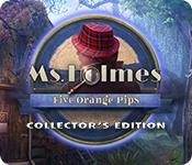 Feature screenshot game Ms. Holmes: Five Orange Pips Collector's Edition