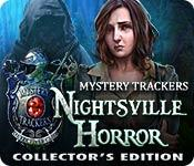 Feature screenshot game Mystery Trackers: Nightsville Horror Collector's Edition